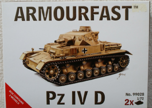 Armourfast 20mm 99028 Panzer IV Ausf D